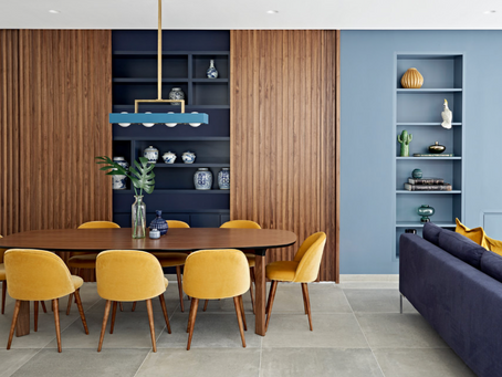2018 COLOR TRENDS: curcuma and cobalt blue