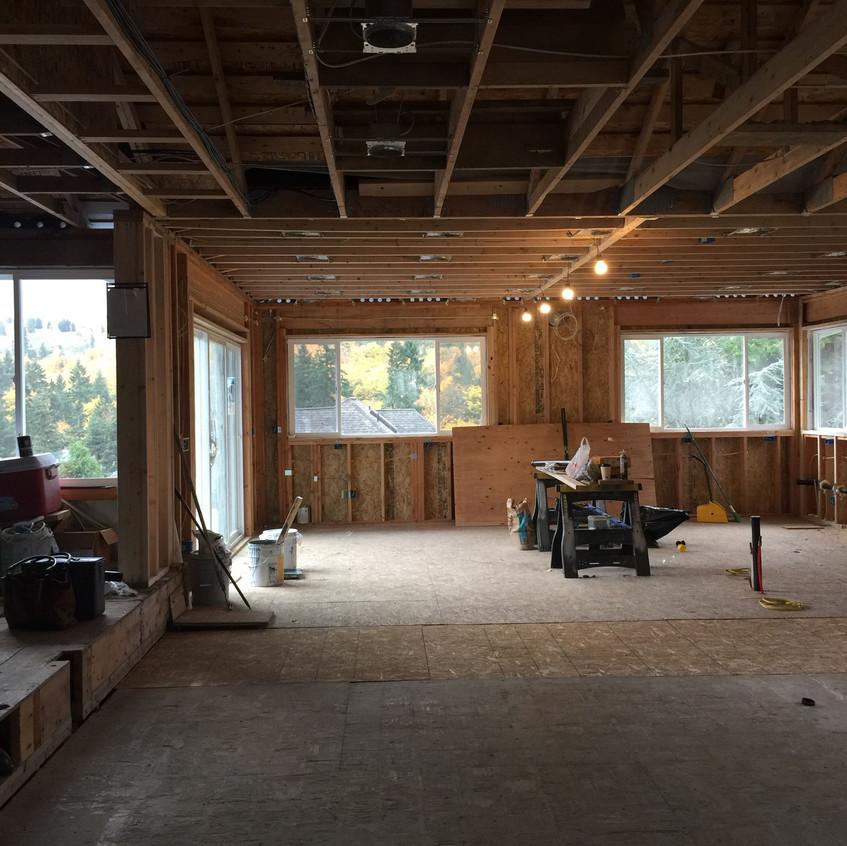 Bellevue home remodel: before
