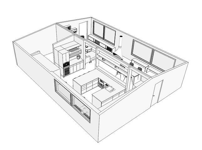 kitchen interiror design