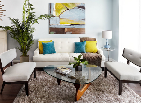 OVER THE COUCH: How to hang your art series