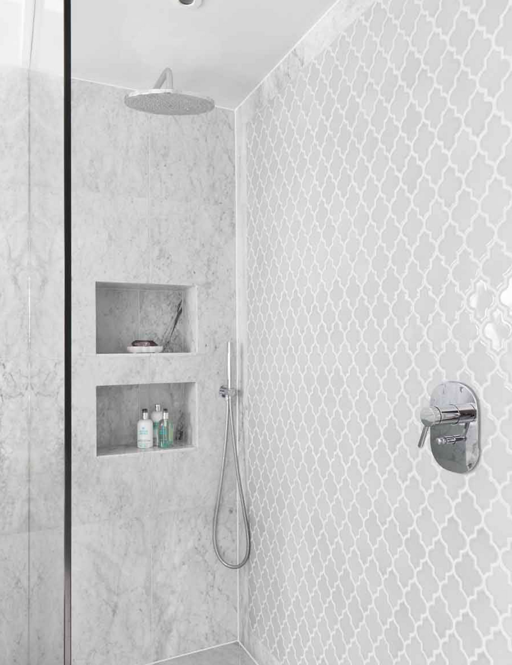 moroccan inspired tile pattern