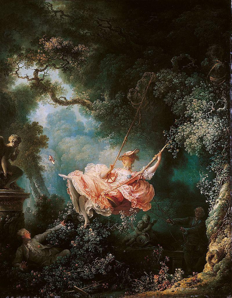 The Swing by Jean Fragonard