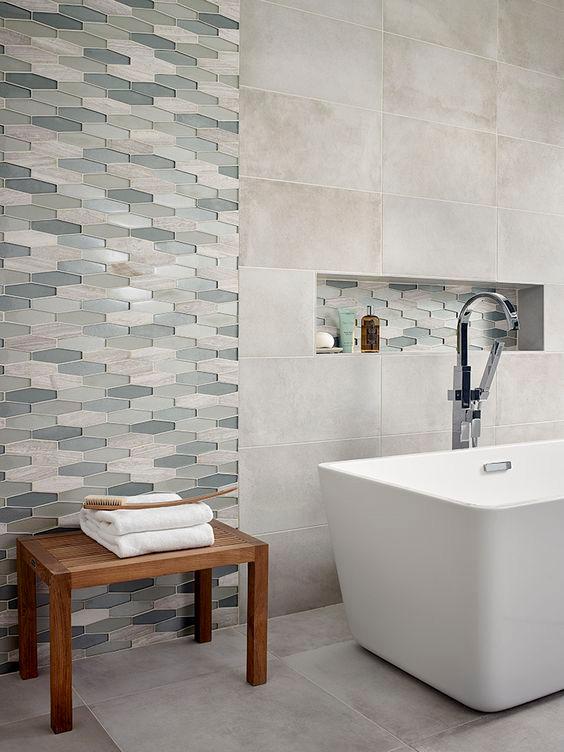 top 2017 top bathroom tile trend