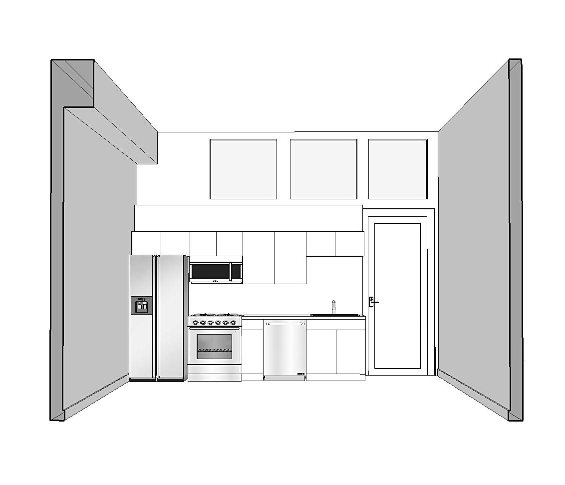 1st floor kitchen view
