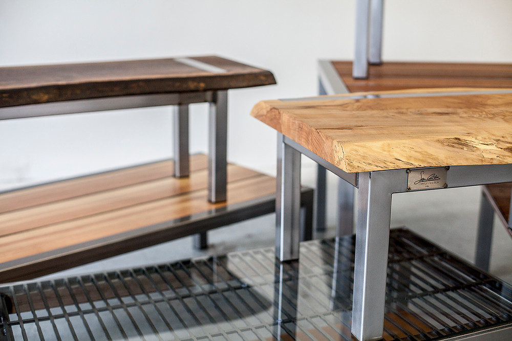 modern wood and metal furniture