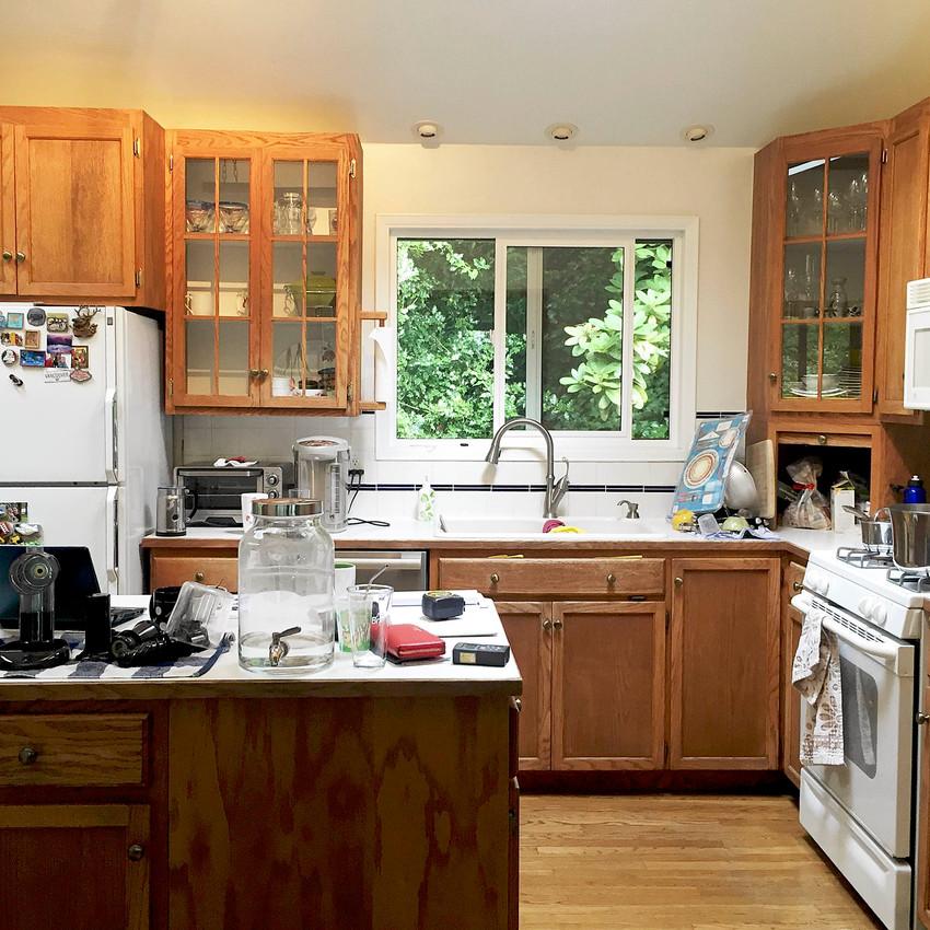 Kitchen redesign: before