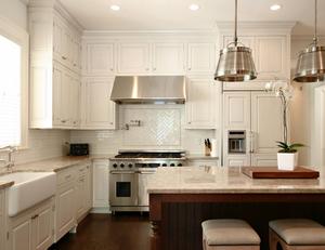 framed kitchen cabinets
