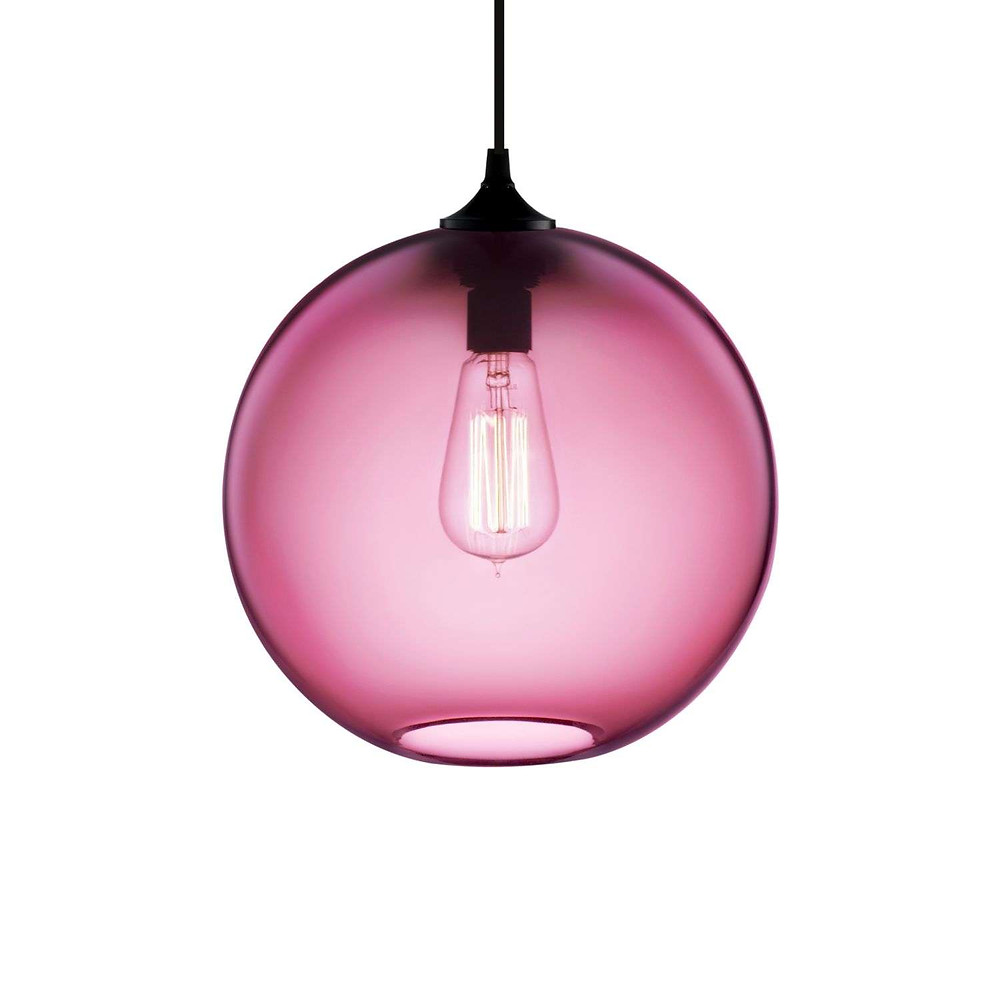 modern glass pendant light