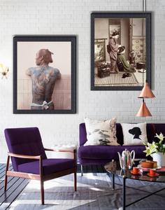 purple interiors inspiration