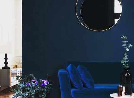 2017 HOME COLOR TRENDS: NAVY IS THE NEW BLACK