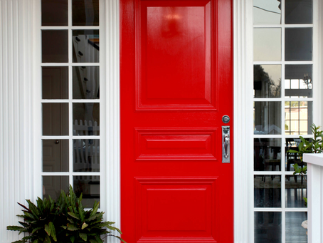 GET READY FOR SPRING: Give your front door a makeover