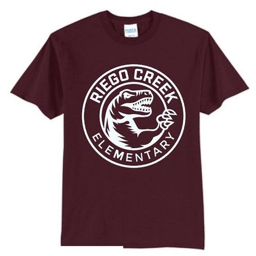 Solid Maroon T-shirt