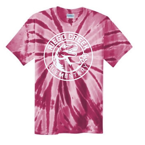 Red/Pink Tie-dyed T-shirt