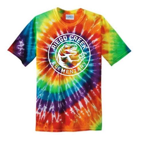 Rainbow Tie-dyed T-shirt