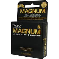 Trojan Magnum Lubed Size 3 Ct Trojan Magnum Large Sized Lubricated