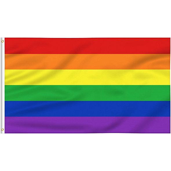 3x5 Rainbow Pride Flag