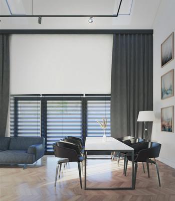 Wnętrze - salon dwukondygnacyjny III