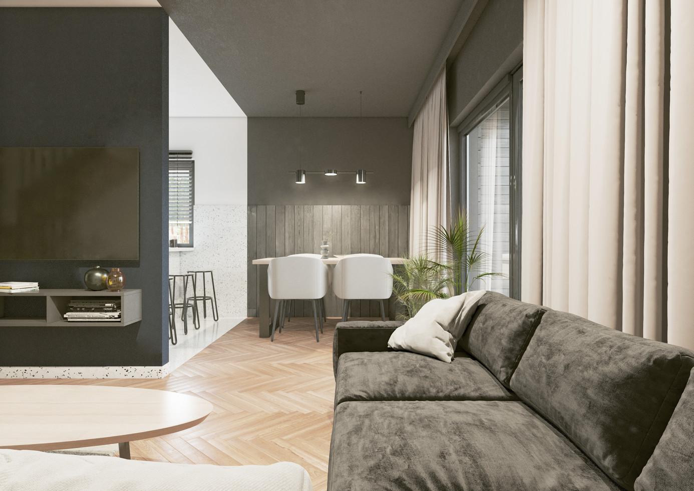 Wnętrze - salon II