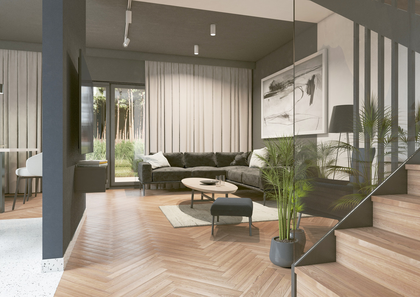 Wnętrze - salon I