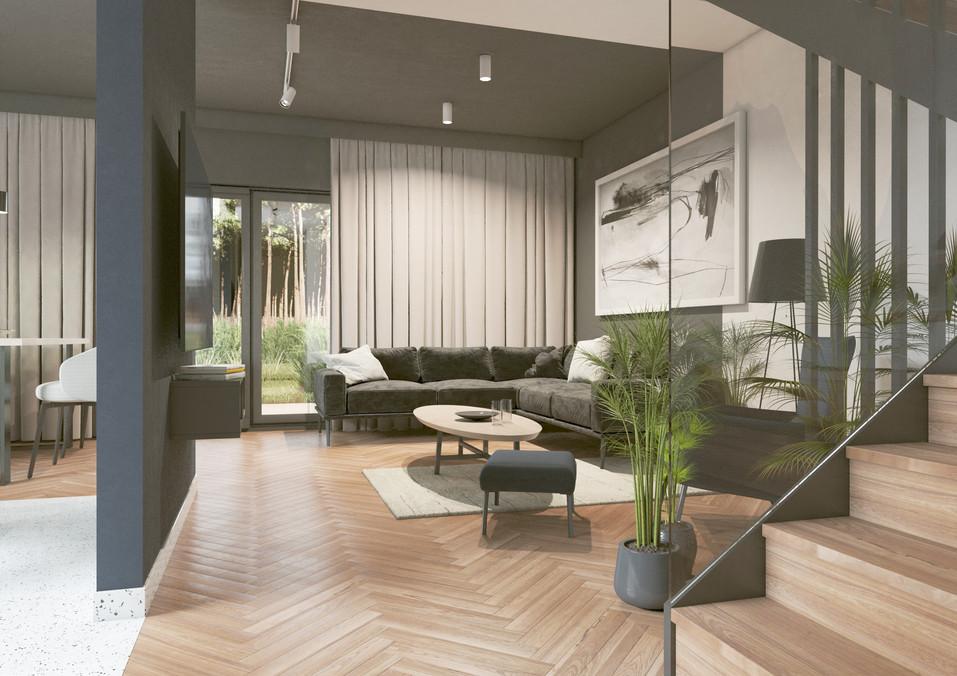 Wnętrze - pokój dzienny I