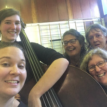 Rehearing for the Incredible Brightness of Being (Margaret Morris Celebration) with Rachel Lightbody, Tam Hardy, Karen Dietz, and Irene Railley