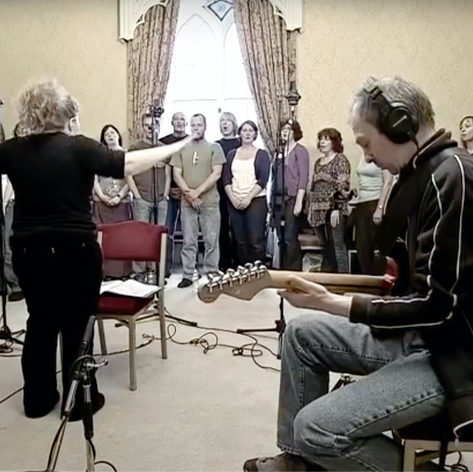 Craigie Community Choir recording 'In Search of Angels' with Runrig at Scone Palace.  Track is on their ablum 50 Great Songs.   Watch the recording at https://www.youtube.com/watch?v=7LKZ1gDa7Ns com/watch?v=7LKZ1gDa7Ns