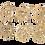 Thumbnail: Lot de 6 décorations de sapin en bois