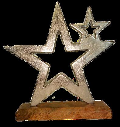 Déco étoile en métal