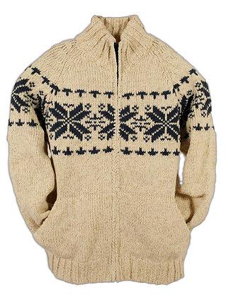 Gilet tricot jacquard