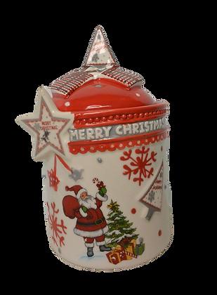 Pot Noël en céramique
