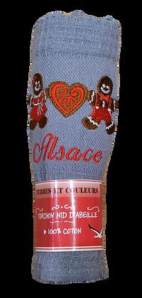 Manala Alsace gris 100% coton