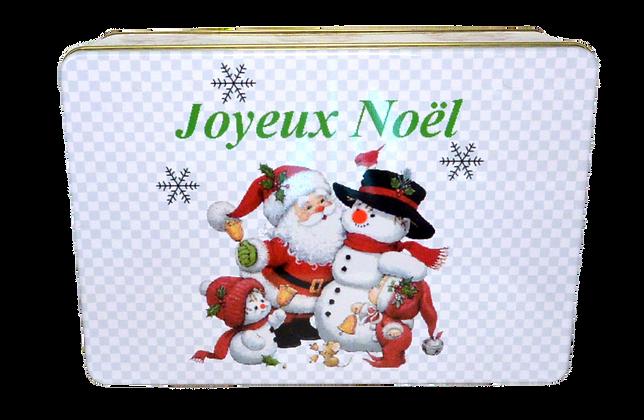 """Boîtes métals """"Joyeux Noël"""""""