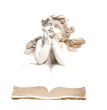 Figurine ange livre