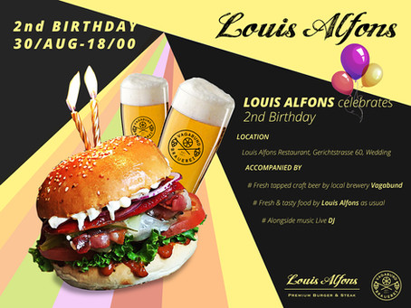 2nd birthday of Louis Alfons