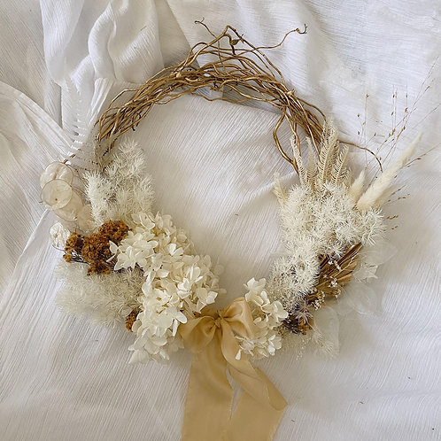 Christmas Wreath- Gold