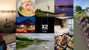 [รีวิว] Cross River Kwai Resort ผ่อนคลายบนสายน้ำแคว ที่ครอสริเวอร์แควรีสอร์ต กาญจนบุรี (ชื่อเดิม X2)