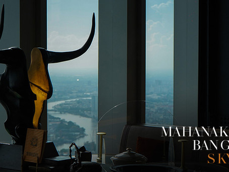 Mahanakhon Bangkok SkyBar ดินเนอร์หรู วิวดีในบรรยากาศรูฟท็อป [รีวิว]