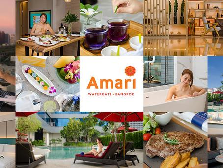 [รีวิว] Amari Watergate Bangkok พักหรู อยู่สวีท ที่อมารี วอเตอร์เกท กรุงเทพฯ