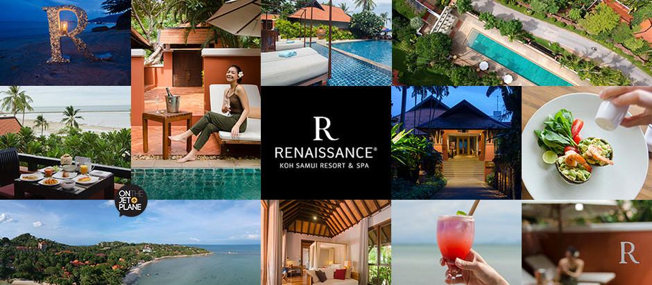 [รีวิว] Renaissance Koh Samui Resort & Spa รีสอร์ทบรรยากาศดี ติดทะเล บนเกาะสมุย