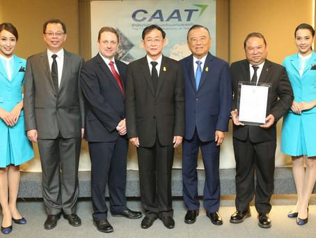 บางกอกแอร์เวย์ส ได้รับใบรับรอง AOC ใหม่เป็นสายการบินแรกในประเทศไทย
