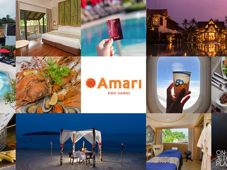 ร้อนนักต้องพักร้อนที่Amari Koh Samui | Luxury Resort  บนหาดเฉวง [รีวิว]