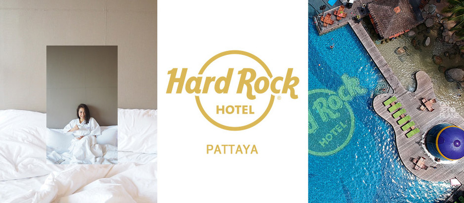 Hard Rock Hotel Pattaya โรงแรมแบบร็อคๆ ริมหาด ที่ฮาร์ดร็อค พัทยา [รีวิว]