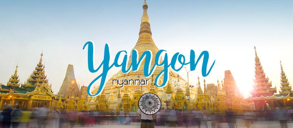 Yangon   มิงกะลาบา...เมื่อฉันมาย่างกุ้ง