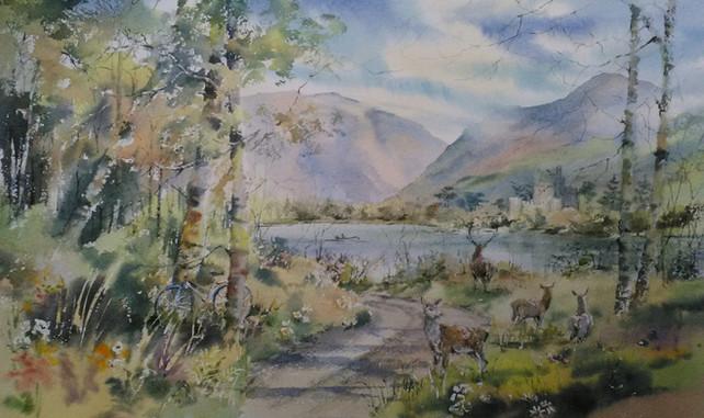 Deer and Lower Lake