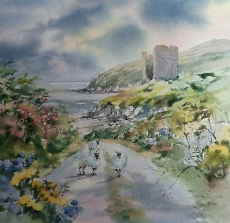 Minard Castle Co.Kerry
