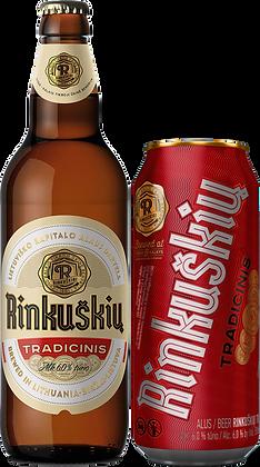 """Пиво """"Rinkuškiai"""" Традиционный имперский пилс"""