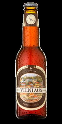 """Пиво """"Vilniaus"""" темное"""