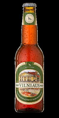 "Пиво ""Vilniaus"" темное с травами"