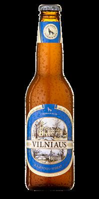 "Пиво ""Vilniaus"" Пшеничное светлое"