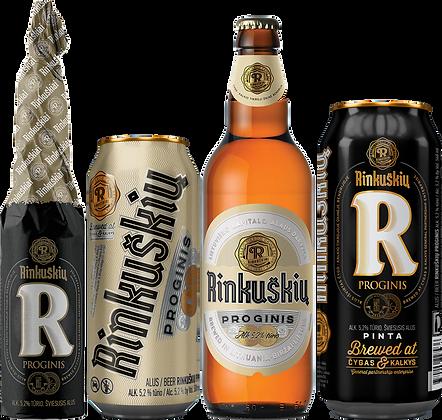 "Пиво ""Rinkuškiai"" Юбилейное премиум лагер"